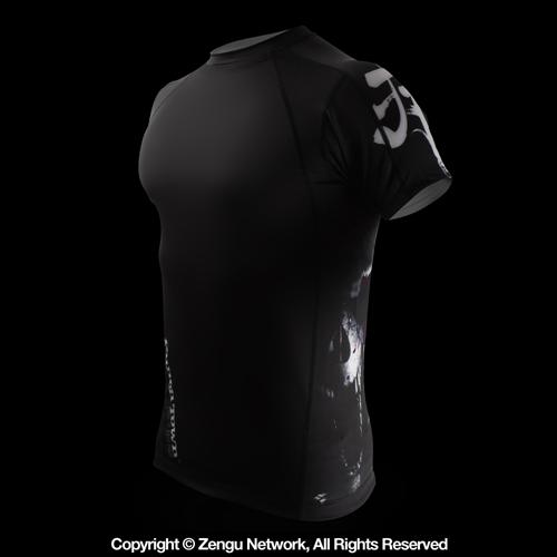 PunchTown PunchTown Deranged Rashguard - Short Sleeve